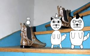 """Comic vom Lied: """"Katzenromanze"""""""